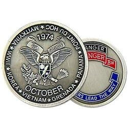 2nd Ranger Battalion Challenge Coin (38MM inch)