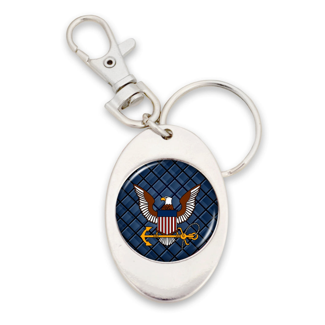 U.S. Navy Key Chain with Logo