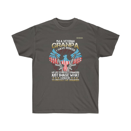 I Have Risked My Life To Protect Strangers - Veteran T-shirt