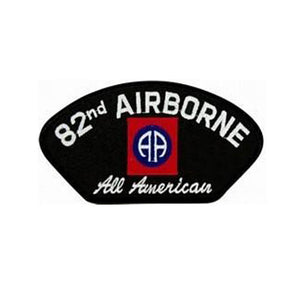82nd Airborne All American Black Patch-Military Republic