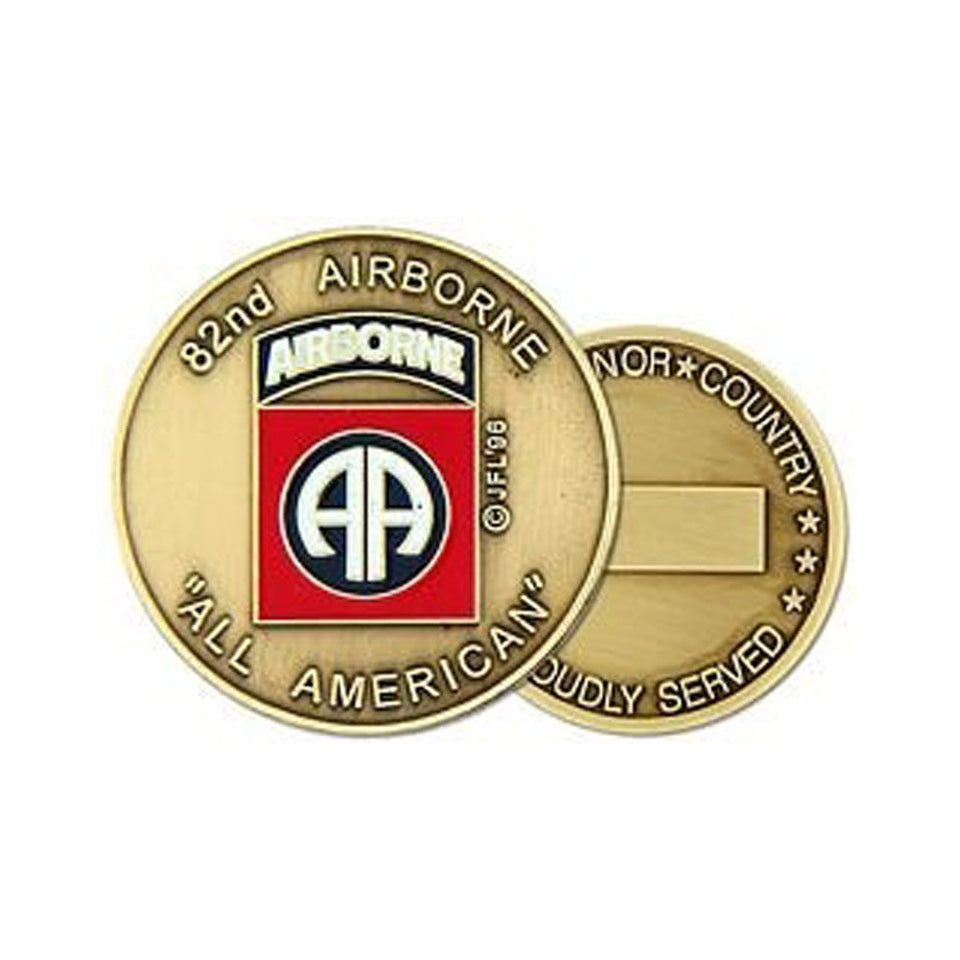 82nd Airborne Division Challenge Coin (38MM)