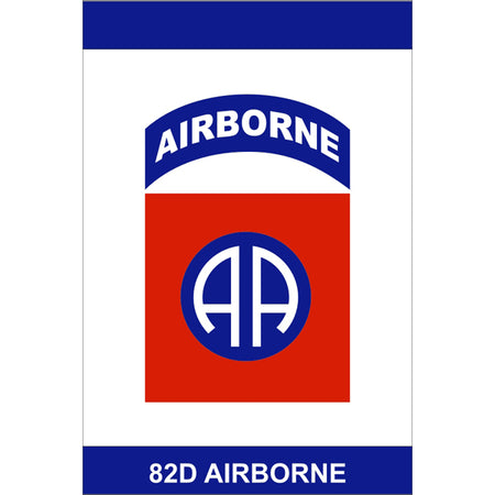 82nd AIRBORNE TAB AA Flag Service Banner