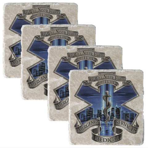 9/11 EMS Blue Skies Collectors Set-Military Republic