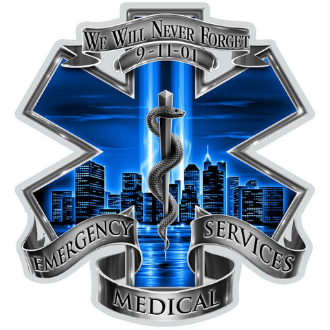 9/11 EMS Decal-Claris Deals