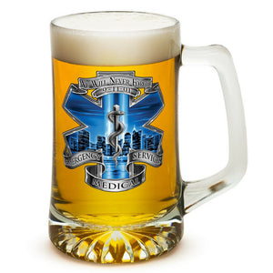 9/11 EMS Memorial Beer Tankard-Military Republic