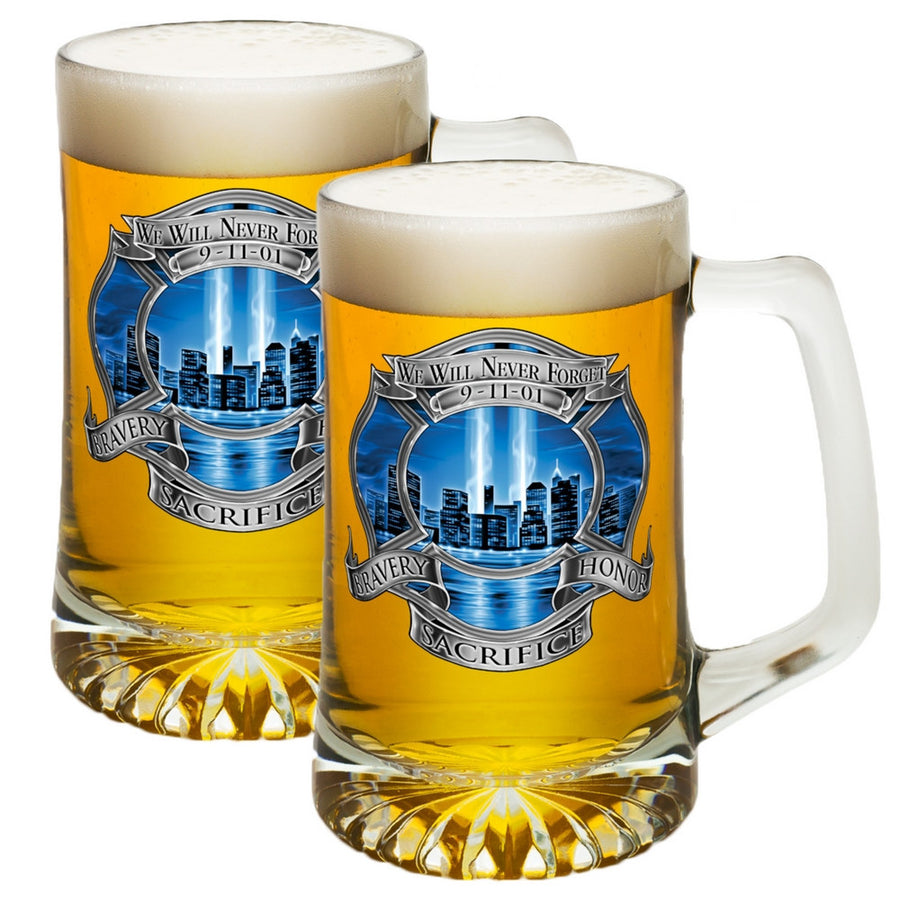 9/11 Firefighter Memorial Beer Tankard-Military Republic