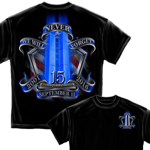 9/11 Memorial T-Shirt-Military Republic