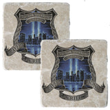 9/11 Police Coaster-Military Republic