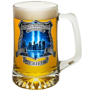 9/11 Police Memorial Beer Tankard-Military Republic
