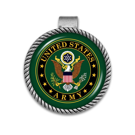 U.S. Army Visor Clip with Army Seal