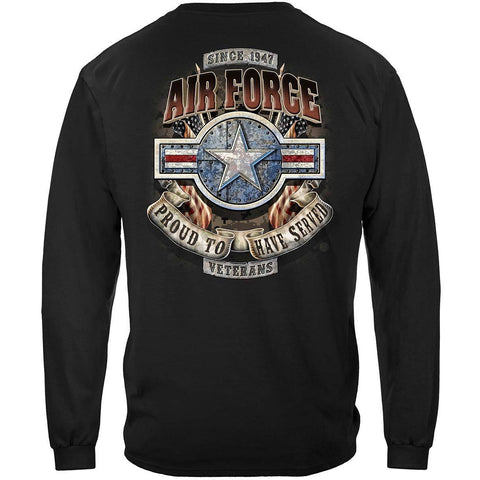 Air Force Veteran Long Sleeve