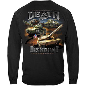 Army Death Before Dismount T-Shirt