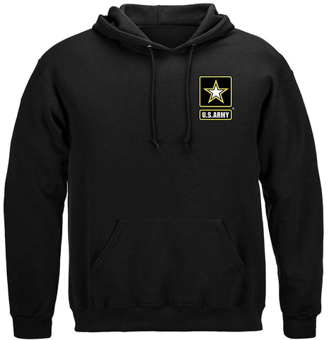 Army Eagle In Stone Hoodie