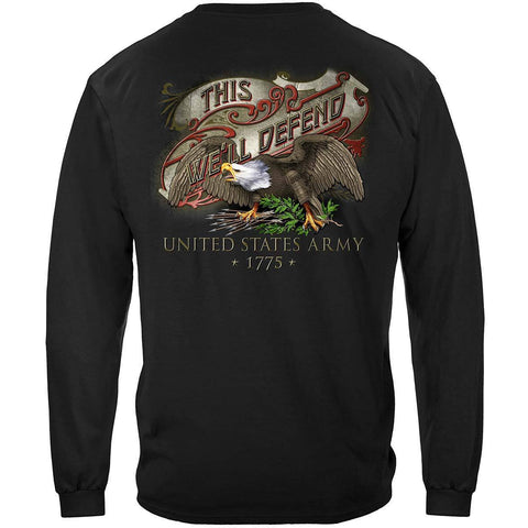 Army This We'll Defend Long Sleeve