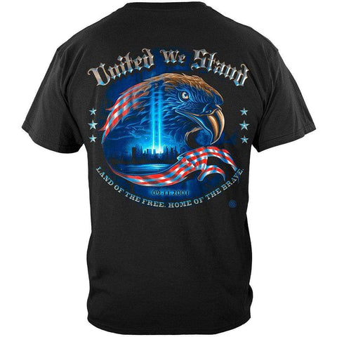 Army United We Stand with Eagle T-shirt