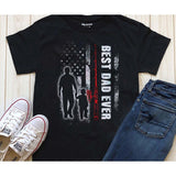 Best Dad Ever -Who Also Loves FIshing T-shirt