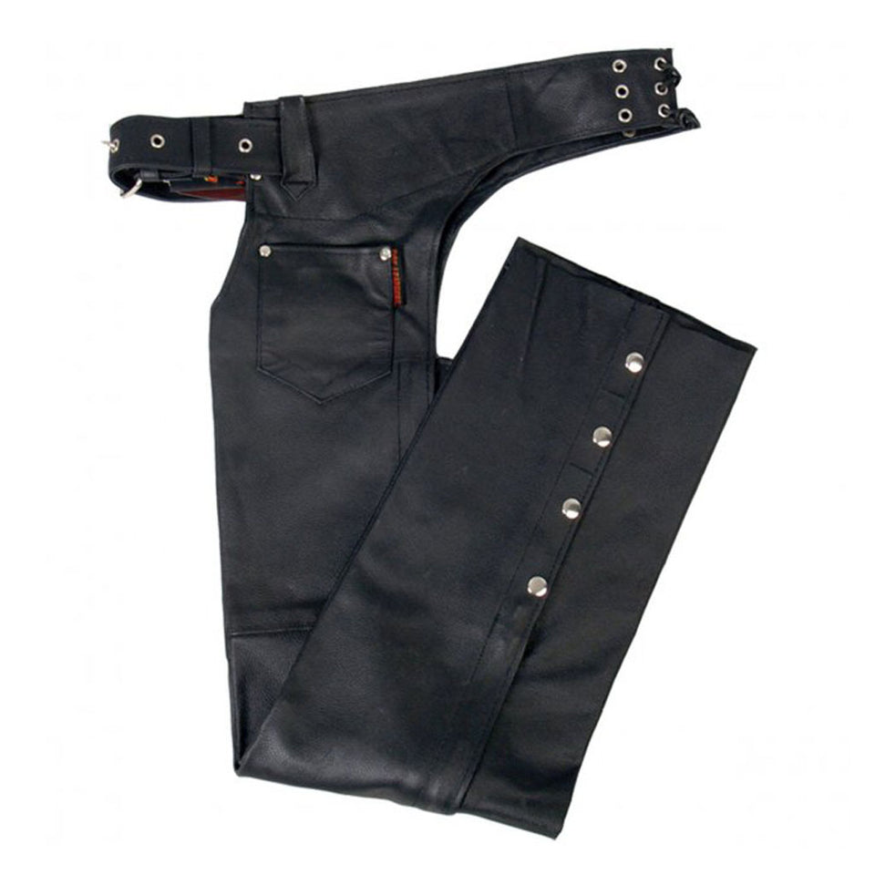 Best Seller Fully Lined Unisex Genuine Leather Chaps With Wide Size Range