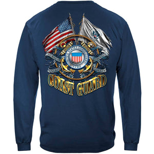 Coast Guard Double Flag T-Shirt