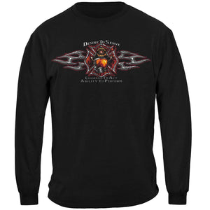 Desire To Serve Firefighter T-Shirt
