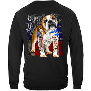 Dogs Of Valor Bull Dog Premium T-Shirt