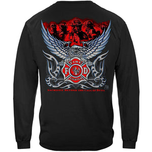 Firefighter Eagle Sacrifice Beyond T-Shirt