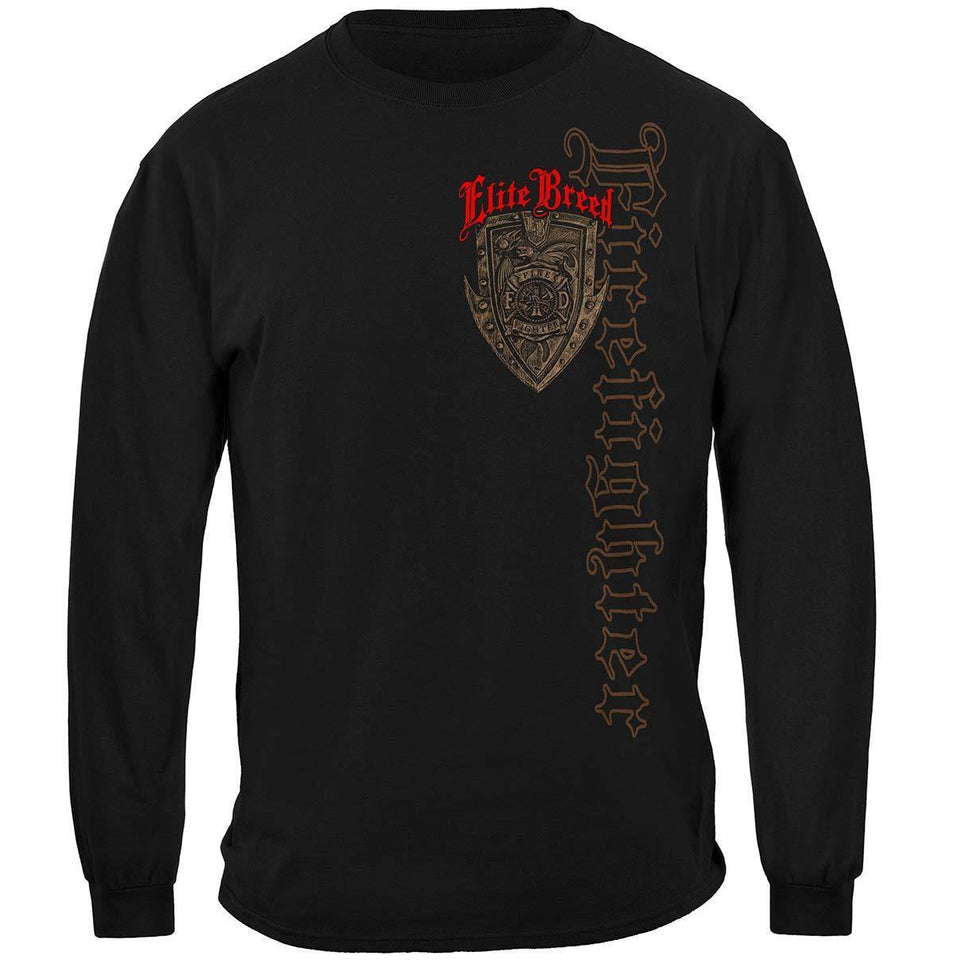 Firefighter Elite Breed Born Or You're Not T-Shirt