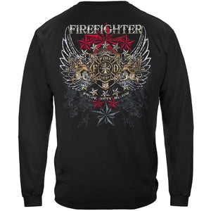 Firefighter Elite Breed Pride Duty Honor T-Shirt