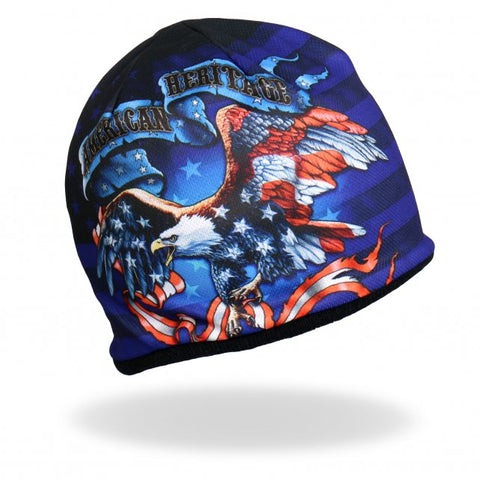 Full Sublimation Print American Heritage Knit Cap/Beanie