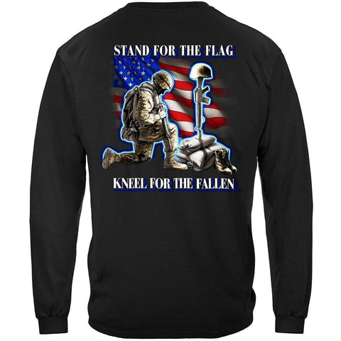 I Stand For The Flag Kneel For The Fallen Premium Long Sleeve