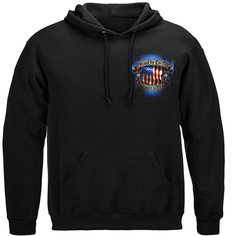 I Stand for the Flag Premium Hoodie