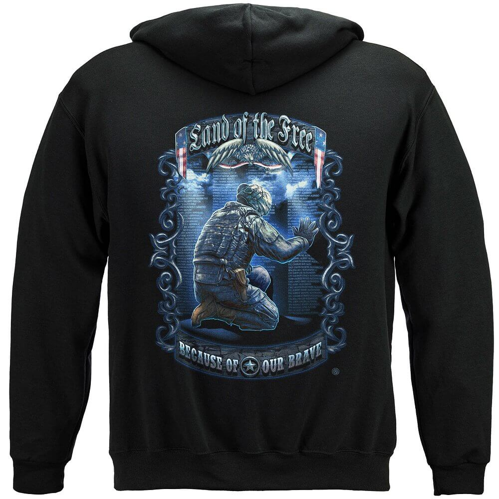 Land Of The Free Wall Hoodie