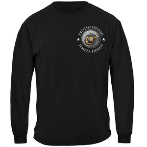 Marines A Few Became Brothers T-Shirt