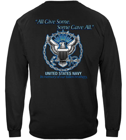 Navy All Gave Some Long Sleeve