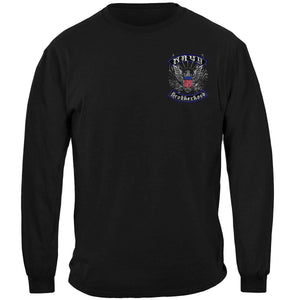Navy Brotherhood Steel Foil T-Shirt