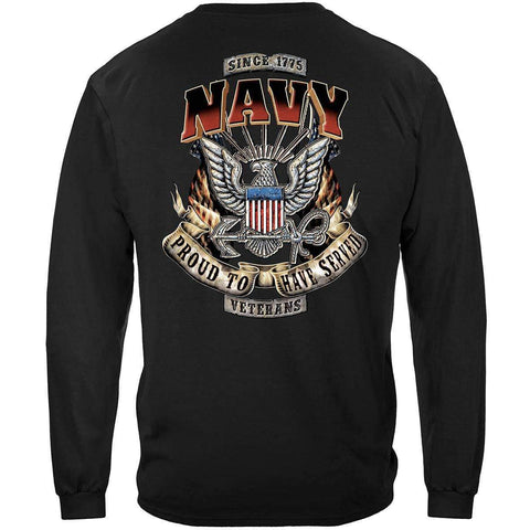 Navy Veteran Long Sleeve