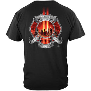 Never Forget 911 Firefighter T-Shirt
