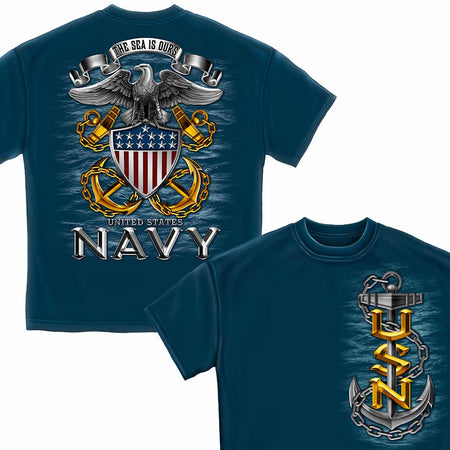 U.S. Navy The Seas is Ours T-Shirt