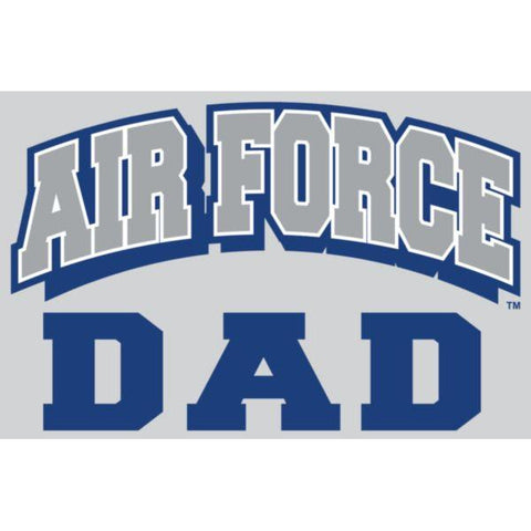 "U.S. Air Force Dad Design 4.25"" x 2.75"" Decal"