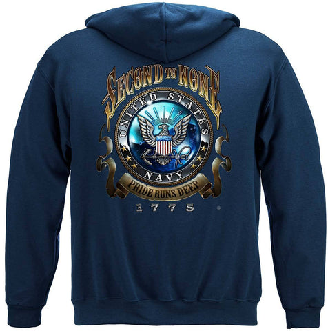 U.S. Navy Second to None Hoodie
