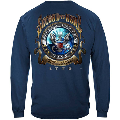 U.S. Navy Second to None Long Sleeve