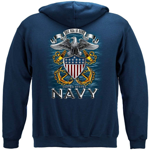U.S. Navy The Seas is Ours Hoodie