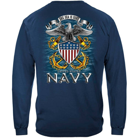 U.S. Navy The Seas is Ours Long Sleeve