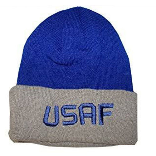 U.S. Air Force Watch Cap (Blue and Grey)