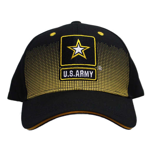 United States Army Dotted Black Cap