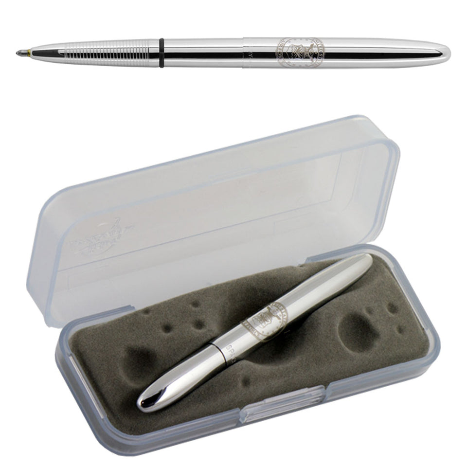 Chrome Bullet Space Pen with U.S. Air Force Insignia