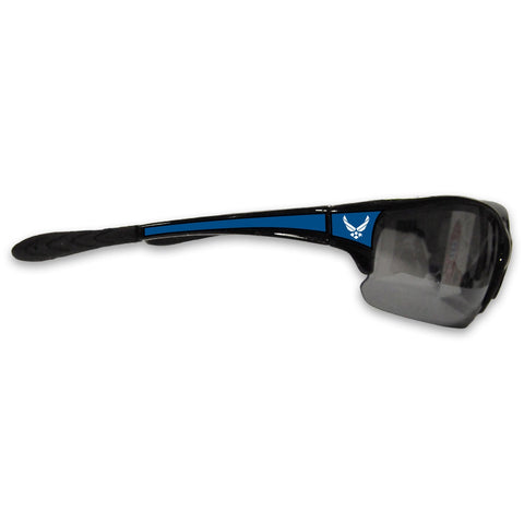 U.S. Air Force Black Sports Rimless Sunglasses