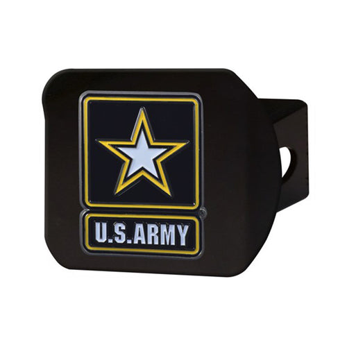 US Army Color Emblem Hitch Cover