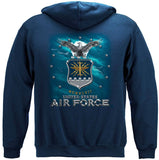 US Air Force Missile Hoodie
