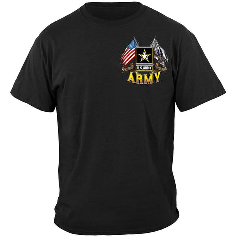 US Army Double Flag T-Shirt