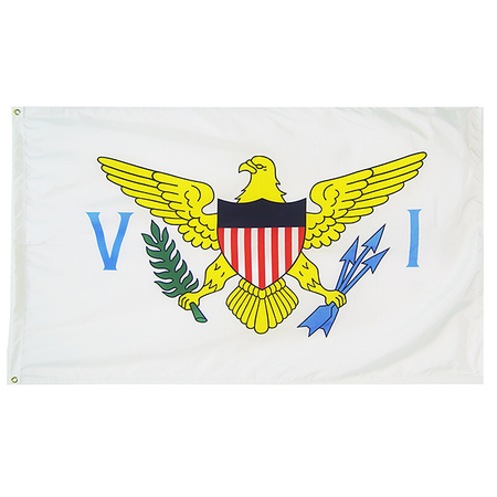 Virgin Island State Nylon Outdoors Flag- Sizes 2' to 10' Length